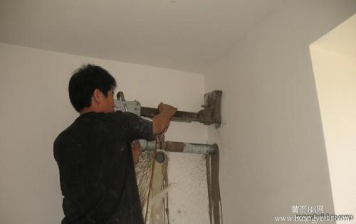 蕭山區進化鎮打空調孔,打油煙機孔
