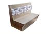 香港餐厅沙发,防火皮家私订造,储物柜梳化款式