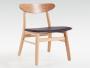 香港订造实木枱凳厂商,中式椅子,茶餐厅原木凳子