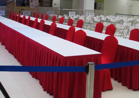 北京宴会大圆桌租赁 折叠椅租赁 会展沙发租赁