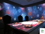上海市智能餐桌投影5D引流光影餐桌智能加熱點餐桌子