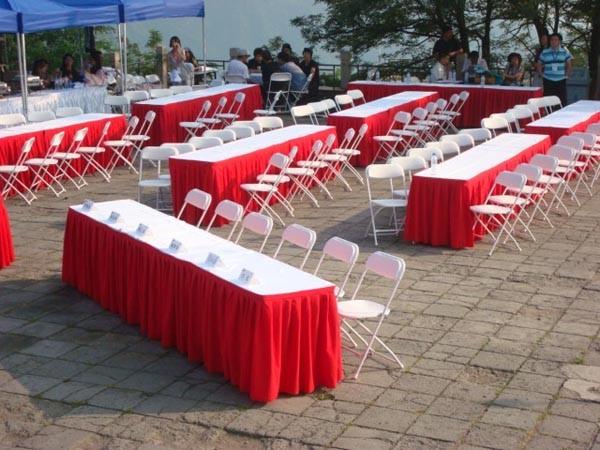 北京折叠桌椅租赁 IBM桌租赁 铁马护栏租赁